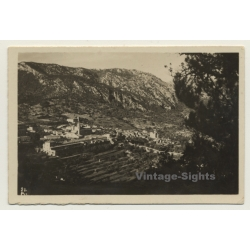 Valldemossa / Baleares: View Over Village (Vintage Photo 1932)