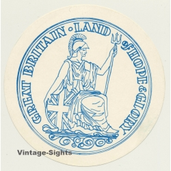 UK: Great Britain - Land Of Hope & Glory (Vintage Luggage...