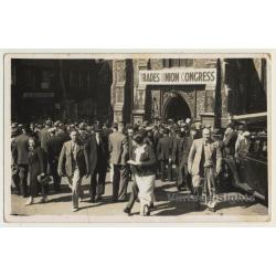 London / UK: Trades Union Congress - St. Andrews Hall (Vintage...