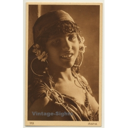 Lehnert & Landrock N° 113: Femme Arabe - Aisha (Vintage PC ~...