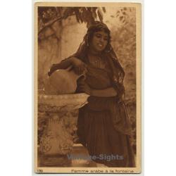 Lehnert & Landrock N° 130: Femme Arabe À La Fontaine / Bedouin...