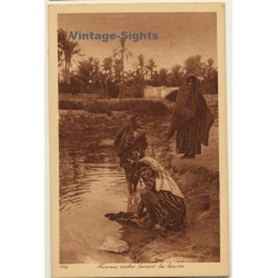 Lehnert & Landrock N° 229: Femmes Arabes Faisant La Lessive /...
