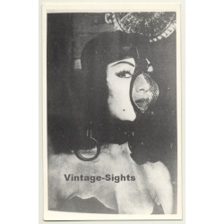 Bettie Page Lookalike *2 / Face Mask - Fetish Clothes - BDSM...