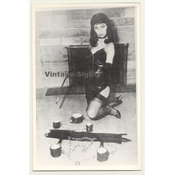Bettie Page Lookalike *4 / Restraint - Rod - BDSM (Vintage...