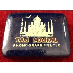 Taj Mahal Phonograph Needles (Vintage Tin & Needles ~ 1950s)
