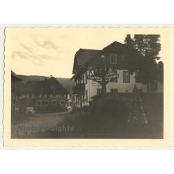 79868 Altglashütten: Haus Zum Löwen / Titisee - Oldtimer...