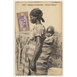 Collection Fortier: Afrique Occidentale - Femme Ouolof / Baby...
