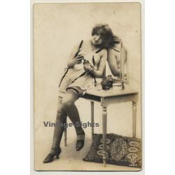 P.C. Paris 1483: Pretty French On Dressing Table / Boudoir -...