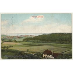 Apenrade / Denmark: View Onto Town & Bay (Vintage Postcard 1911)
