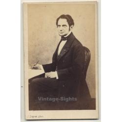 J. Dupont / Anvers: Portrait Of Unidentified Writer (Vintage...