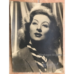 Studio Harcourt / Paris: Greer Garson (Large Vintage Cinema...