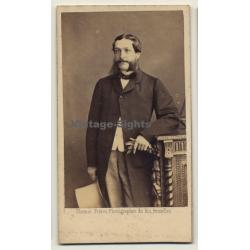 Ghémar Frères / Bruxelles: Portrait Of Pierre Keuckx (Vintage...