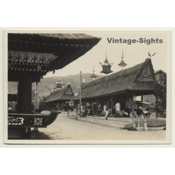 China: Chinese Temple - Pagoda House *1 (Vintage RPPC...