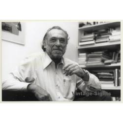 Eckart Palutke / Grasset: Charles Bukowski (Vintage Photo...