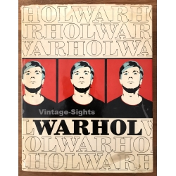 Rainer Crone: Andy Warhol (Vintage Book 1. Ed. Hardcover 1970)