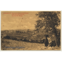 Jerusalem / Israel: From The Mountain Of Olives (Vintage PC)