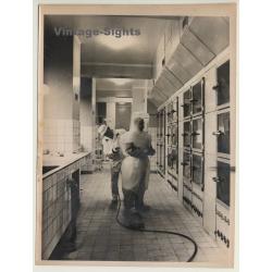 Prague: Inside Radiotoxologic Institute / Overpressure Suit...