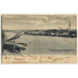 Nausori / Fiji: Colonial Sugar Cos - Rewa River (Vintage PC 1905)