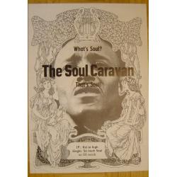 The Soul Caravan - What Is Soul? (Vintage CBS Promo Poster)