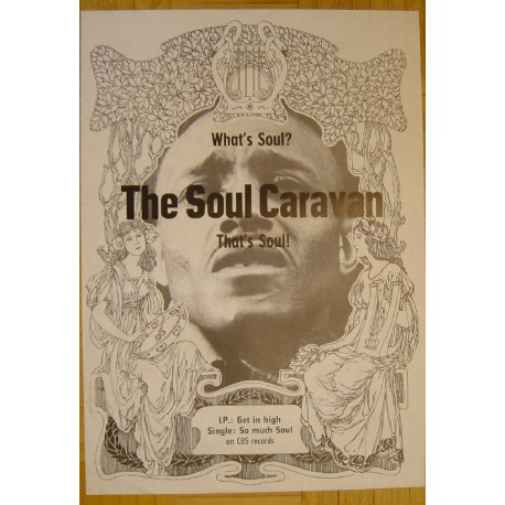 The Soul Caravan - What Is Soul? (Vintage CBS Promo Poster)