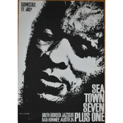 Sea Town Seven Plus One / Roland Korndörffer (Vintage Screen Printed Jazz Poster)