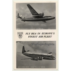 British European Airways: Fly BEA In Europe's Fines Air Fleet...