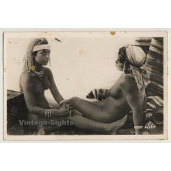 Ageria: Deux Bonnes Amies / Nude - Ethnic (Vintage RPPC...