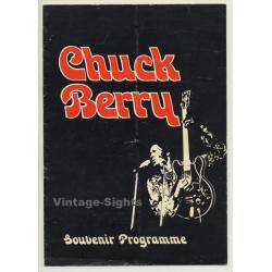 Chuck Berry - Souvenir Programme (Vintage Belgian Tour...