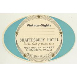 copy of London / UK: Prince Of Wales Hotel, Kensington...