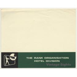 UK: Hotel Division - The Rank Organisation (Vintage Luggage...