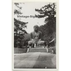 Kamakura / Japan: Daibutsu Statue / Buddah (Vintage Photo ~1930s)