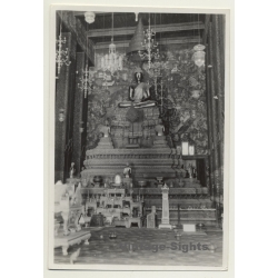 China: Chung Culture In Buddhist Temple (Vintage Photo ~1930s)