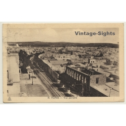 Tunis / Tunisia: Vue Partielle / View Over Town (Vintage PC 1936)