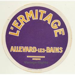 Allevard-Les-Bains / France: Hotel L'Ermitage (Vintage Luggage...