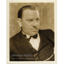 Wallace Beery - Actor / M.G.M. W8X8 (Vintage Press Photo ~1930s)