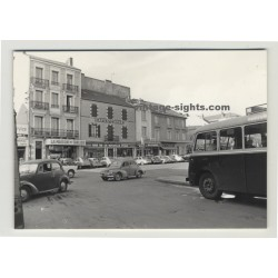 Paris 1964: Street Scene La Nouvelle Poste / Hotel Du Tourisme (Vintage Real Photo)