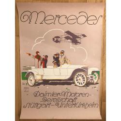 Luxus Mercedes Benz (Poster DIN A1 1970s) CUCUEL OFFELSMEYER