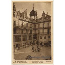 Barcelona: Metropolitan Hotel / Inside Garden (Vintage PC...
