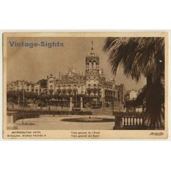 Barcelona: Metropolitan Hotel / General View (Vintage PC...