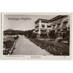 Pollensa / Mallorca - Baleares: Hotel Formentor (Vintage RPPC)