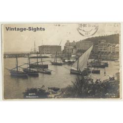 Santa Margherita / Italy: Harbour - Sailing Ships (Vintage...