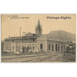 Soller: Estación Del Ferro-Carril / Train Station (Vintage PC...