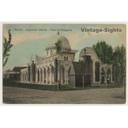 Marseille: Expo Coloniale 1906 / Palais De Madagascar (Vintage...