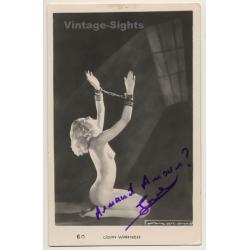 Joan Warner - Nude In Handcuffs / Boudoir - Risqué (Vintage...