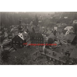 52156 Monschau/Germany: View Over Village 1968