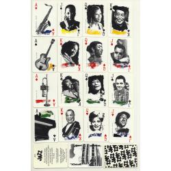 Baptiste Paul Grimaud: Jazz / 52 Cards + 2 Joker (Vintage...