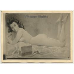 Léon Eygelshoven (1882-1967): Nude Study *1 (Vintage Photo Of...