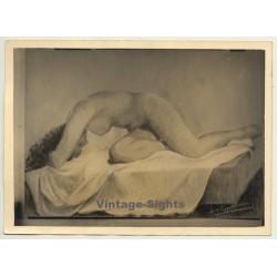 Léon Eygelshoven (1882-1967): Nude Study *4 (Vintage Photo Of...