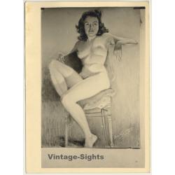 Léon Eygelshoven (1882-1967): Nude Study *6 (Vintage Photo Of...