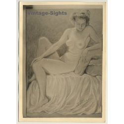 Léon Eygelshoven (1882-1967): Nude Study *7 (Vintage Photo Of...